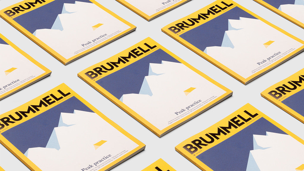 Hey Studio: Brummell magazine cover arts