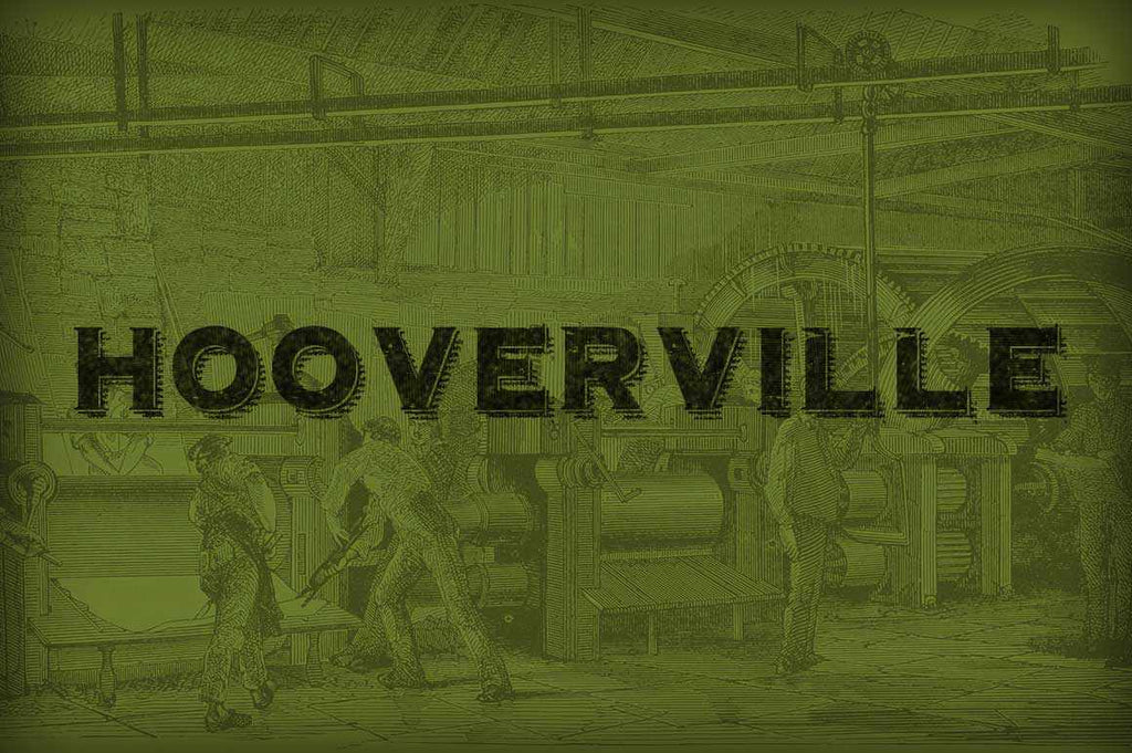 Free Retro and Vintage Fonts: Hooverville