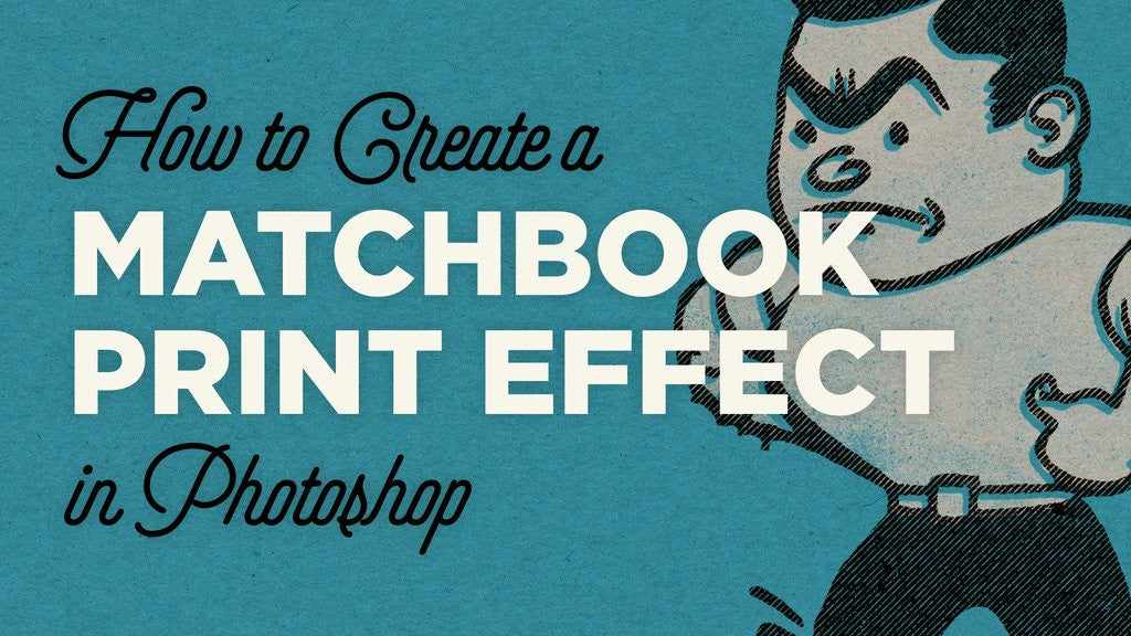 Retro Photoshop tutorial: How to Create a Matchbook Print Effect