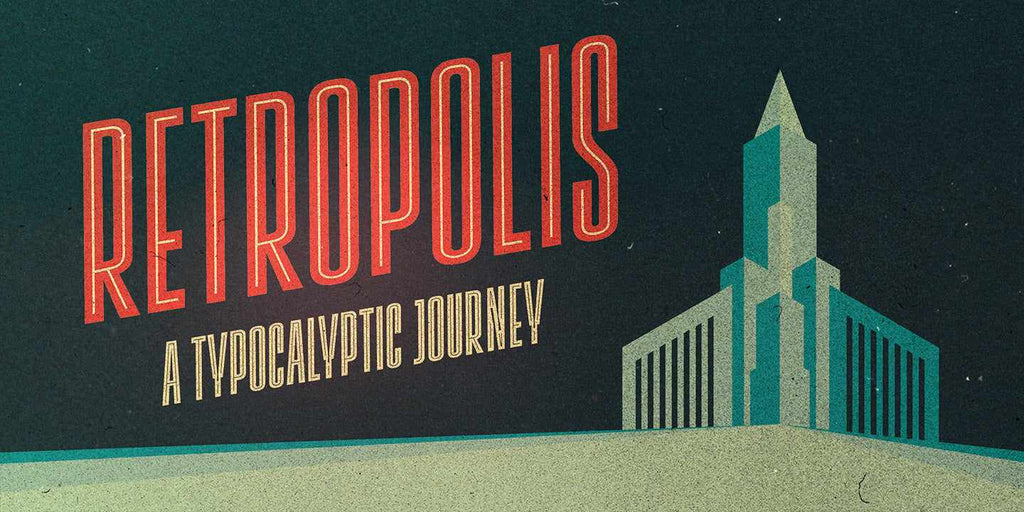Free Retro and Vintage Fonts: Lichtspiele