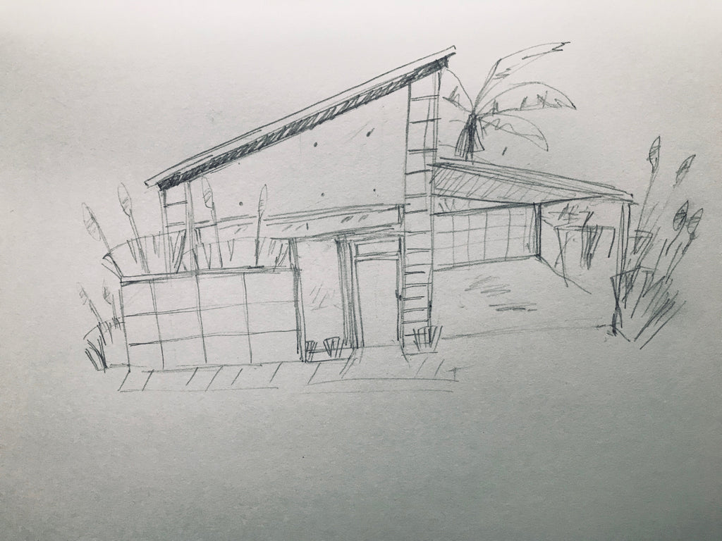 In Addition, Mid Century Houseu0027s Shapes Are Pretty Solid And Concrete With  Some Houses Having Strong Angular Roofs.