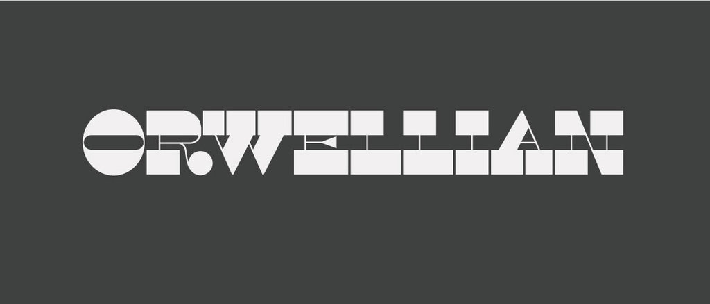 Free Retro and Vintage Fonts: Orwellian