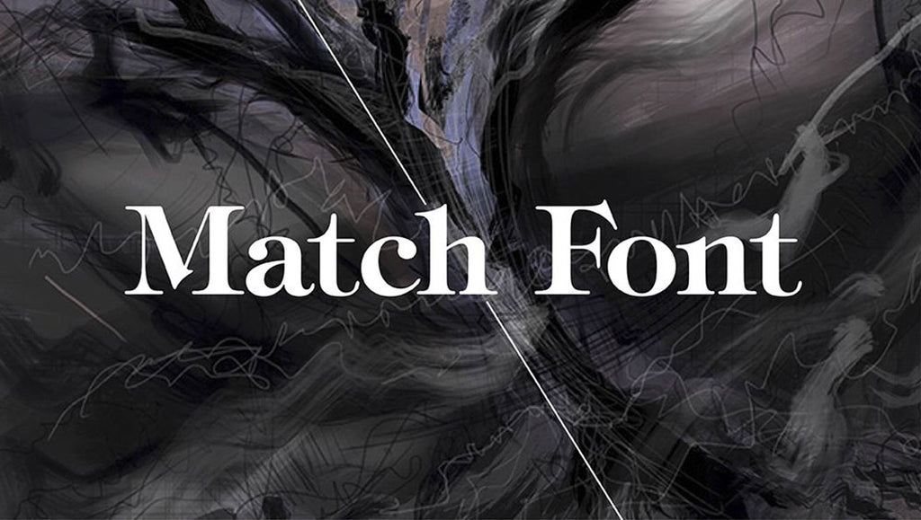 Tutorial: How to use Photoshop's Match Font feature