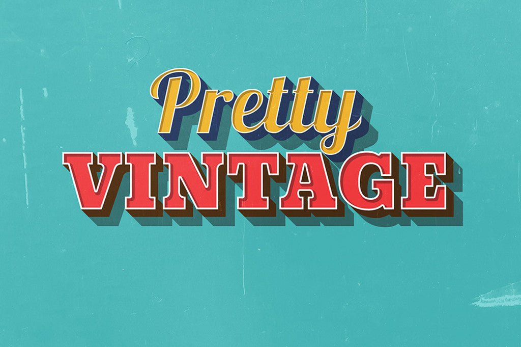 18 of the Best Retro Text Effects for Illustrator and Photoshop