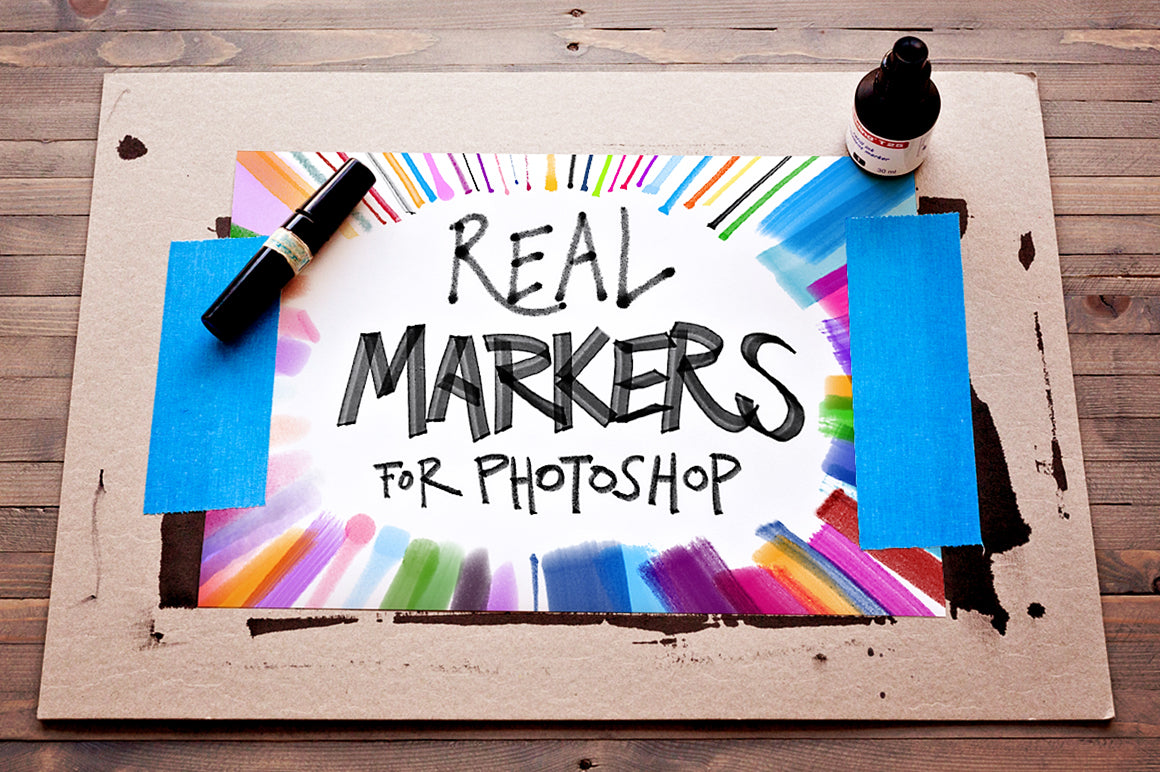 Real Markers for Photoshop
