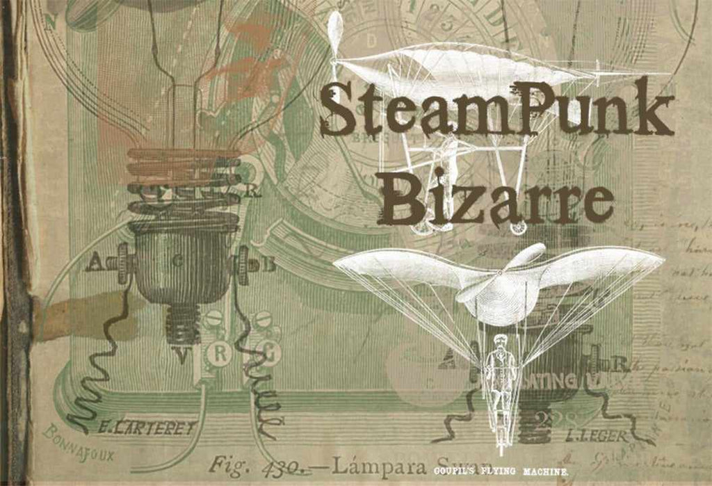 Retro Photoshop brushes: Steampunk bizarre