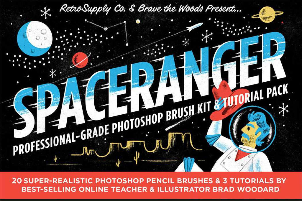 Retro Photoshop Brushes: 50 of the Best - RetroSupply Co