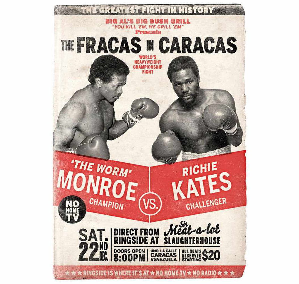 Retro and vintage Photoshop tutorials: boxing posters
