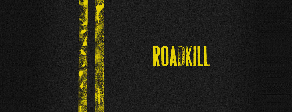 Best-selling retro fonts: Rian Hughes, Roadkill
