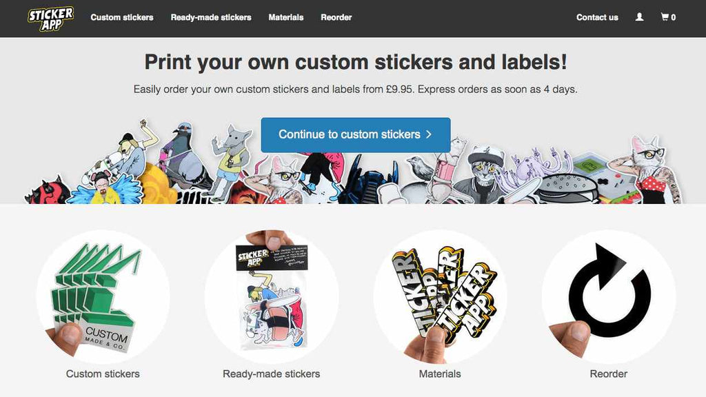 Best places to get your products made sticker app