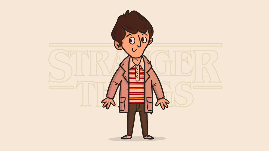 Retro character design tutorials: Stranger Things