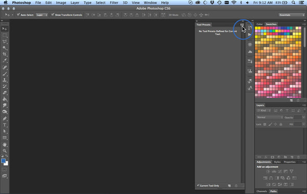 How to Install Brush Tool Presets  tpl into Photoshop - RetroSupply Co