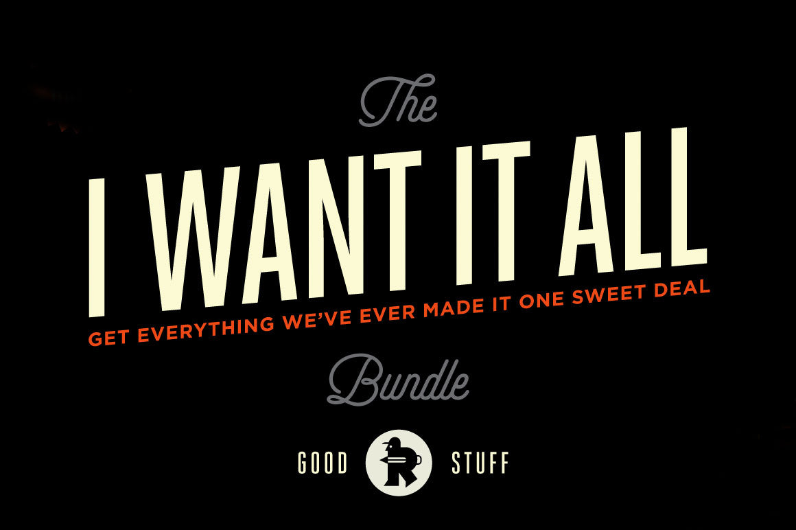 The I Want It All Kit by RetroSupply