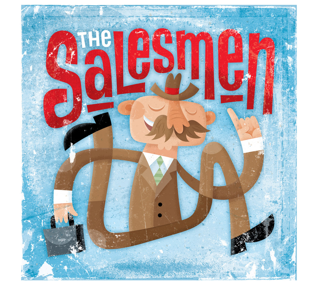 The Salesmen by Von Glitschka