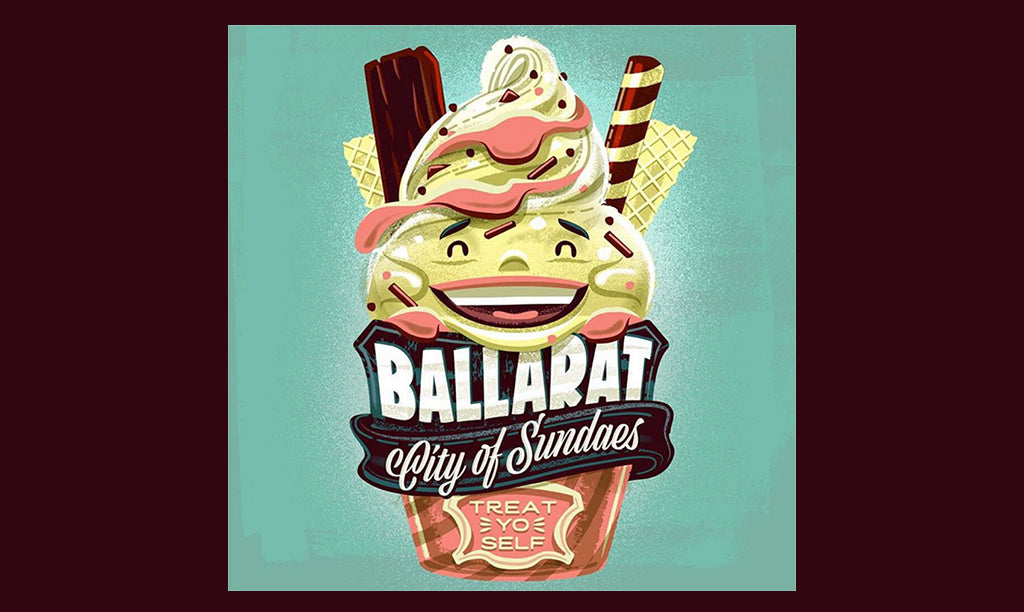 RetroSupply Vector Brish Toolset: Travis Price, City of Sundaes