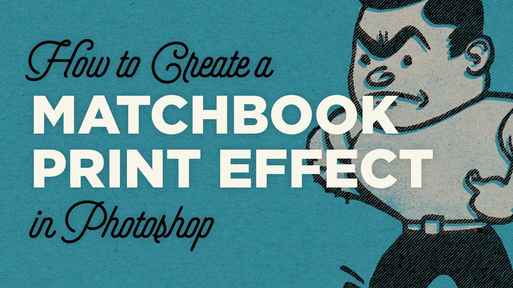 Retro character design tutorials: matchbook