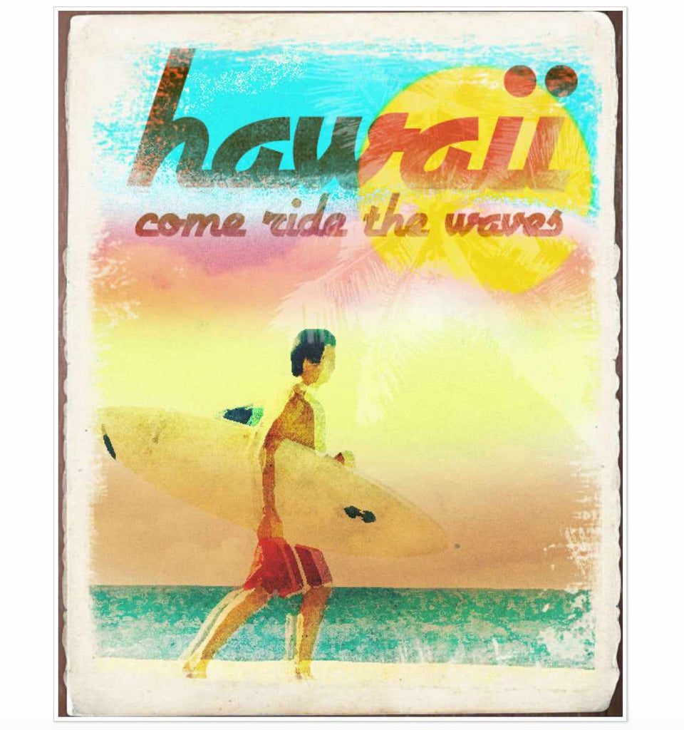 Retro and vintage Photoshop tutorials: vintage beach ad