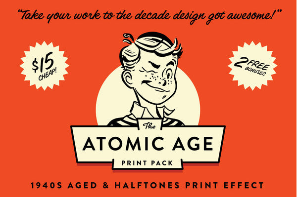 The Atomic Age Print Pack
