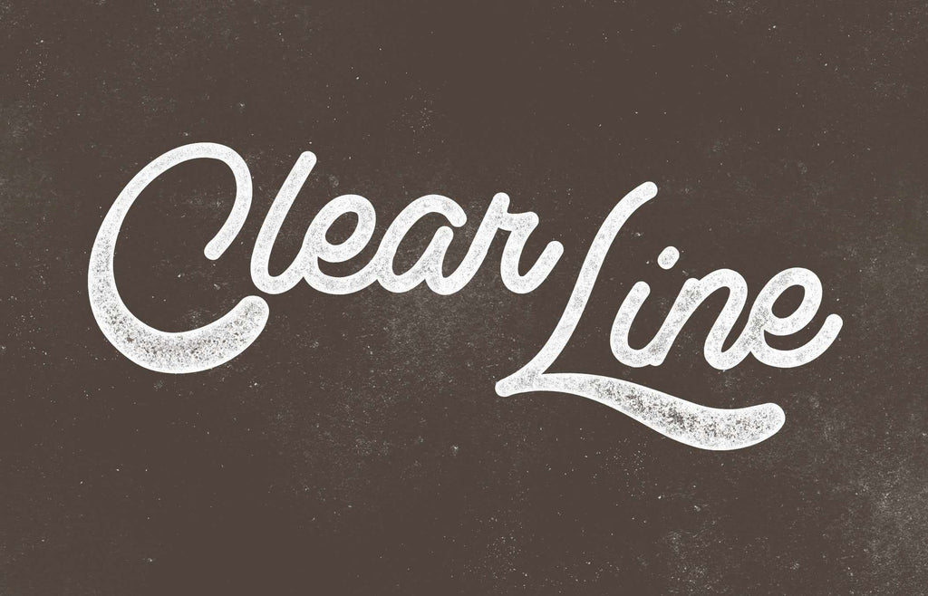 50 Free Retro and Vintage Fonts: Clear Line