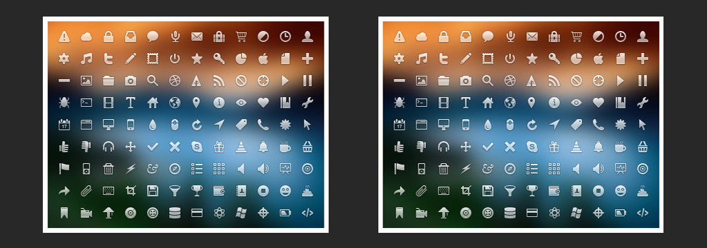Best retro and vintage resources: Visual Idiot icons