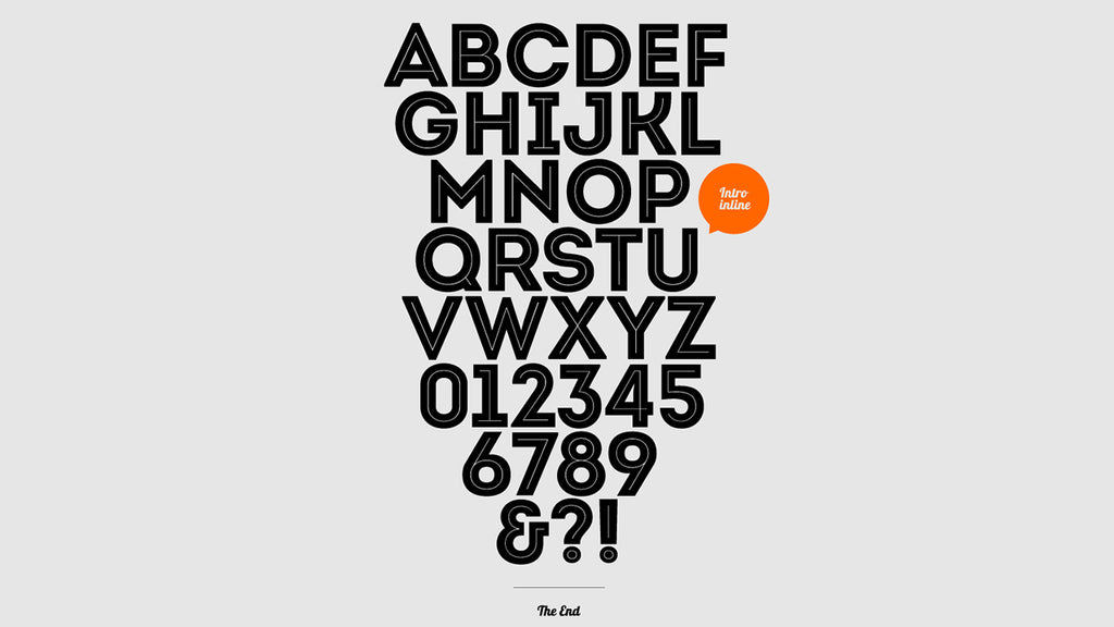 display art three font free download