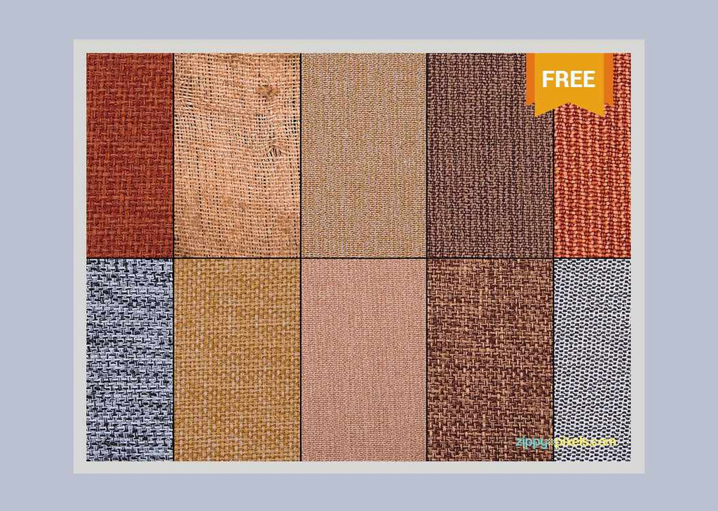 Free Retro And Vintage Textures Jute Fabric