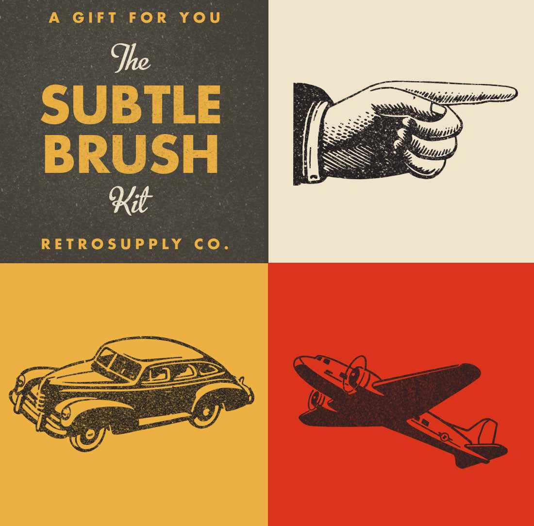 Free RetroSupply Brush Kit