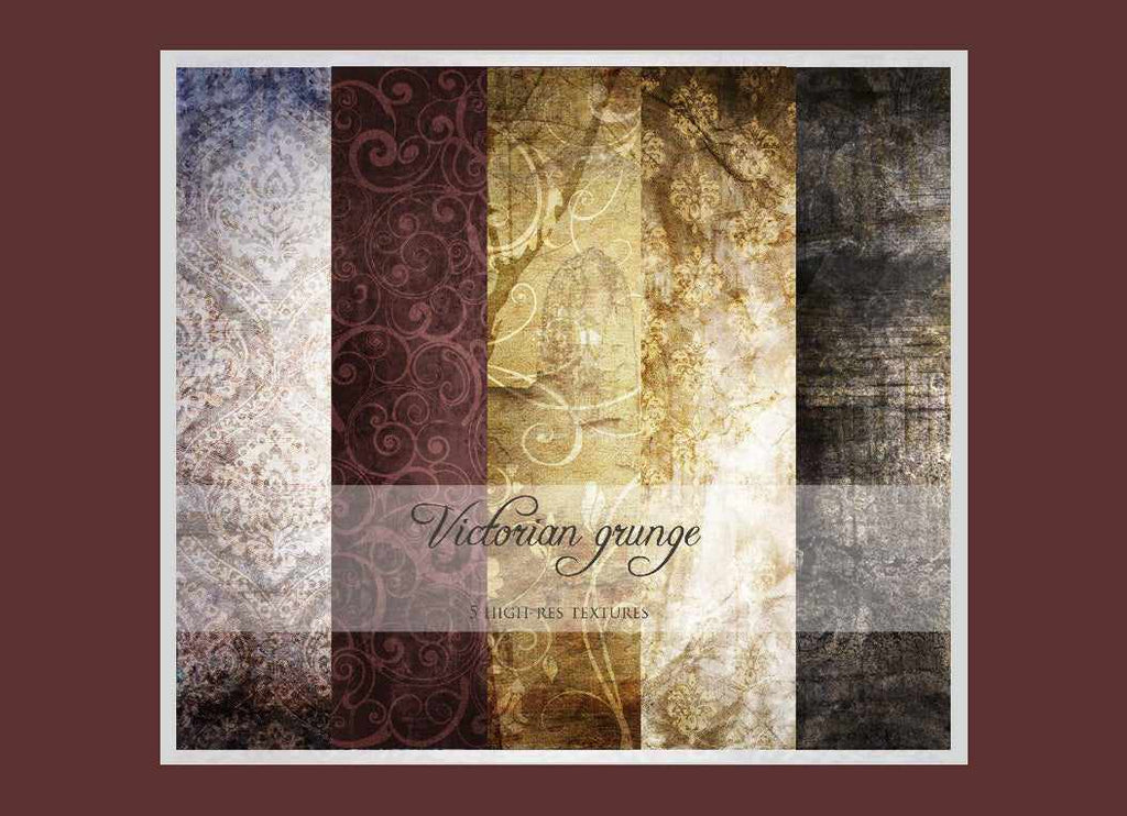 Free retro and vintage textures: Victoria grunge