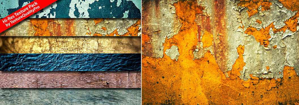 Free retro and vintage textures: high-res texture pack