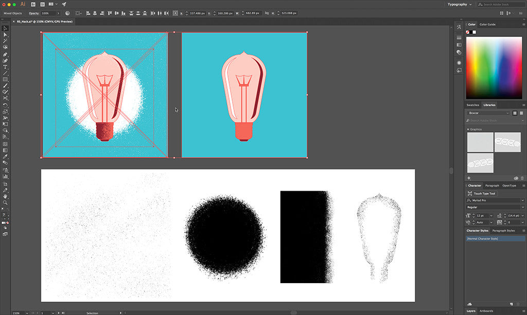 How To Use Photoshop Brushes In Illustrator Retrosupply Co