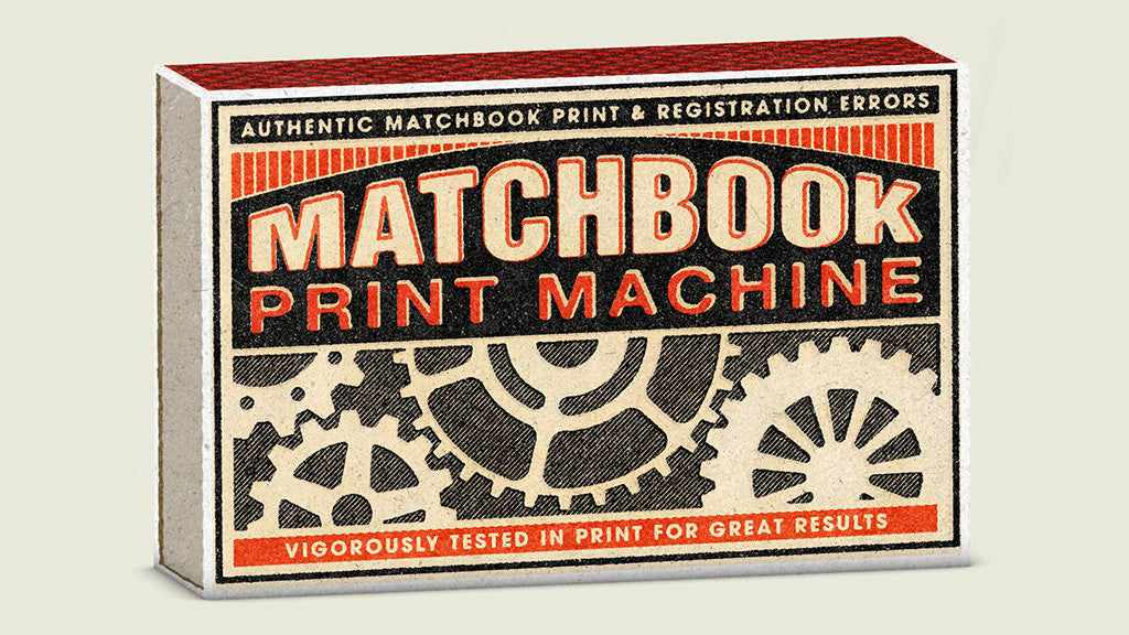 Creative Giants: Matchbox Print Machine cover, Jeana Hadley