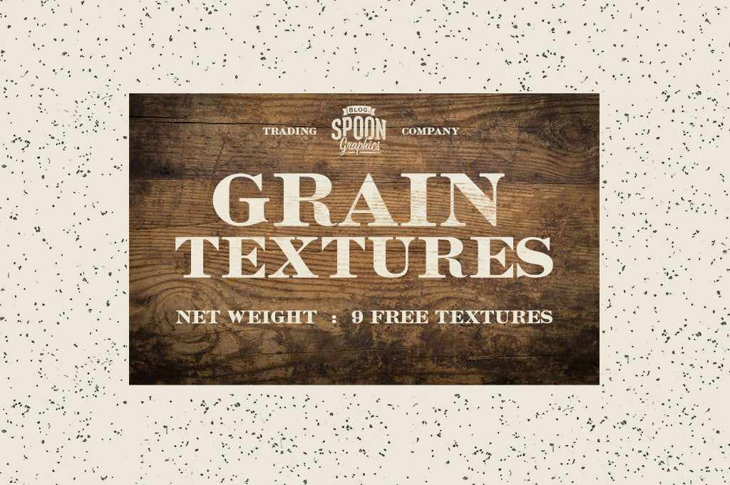 Retro Text Effects: Grain textures