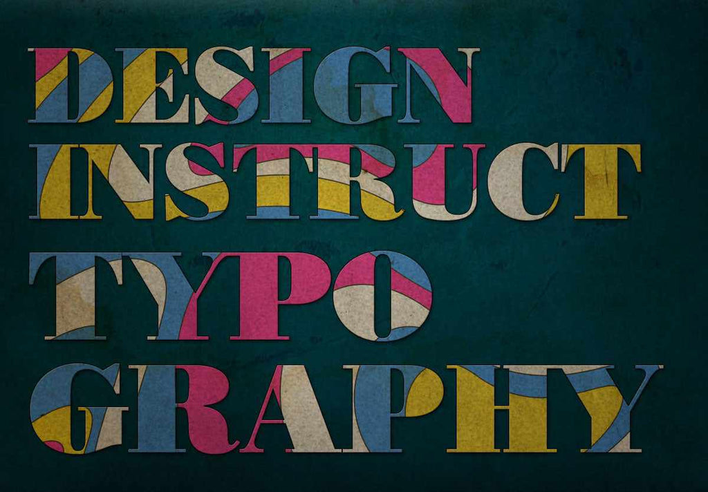 Retro and vintage Photoshop tutorials: wavy text effect