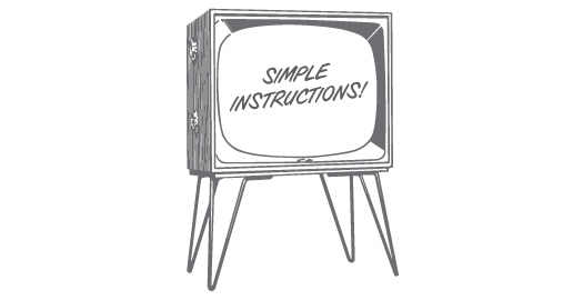 instructions and videos