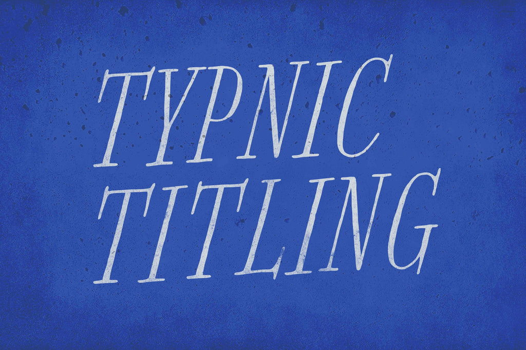 Free Retro and Vintage Fonts: Typnic