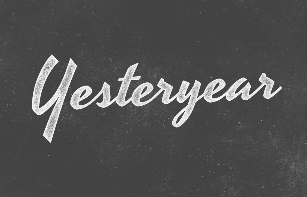 Free Retro and Vintage Fonts: Yesteryear