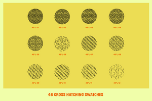 Cross-Country Crosshatchers for Adobe Illustrator