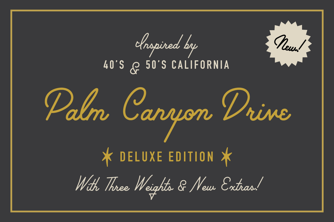 Palm Canyon Drive [Deluxe Edition]