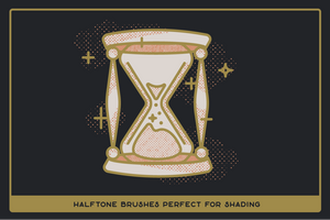 Revelation Halftones | Distressed Halftone Brushes for Procreate