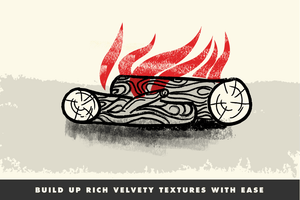 VectorSketch | Charcoal Pencils for Affinity Designer