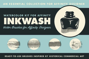 Affinity Designer Brush Sampler Pack Affinity Designer Brushes RetroSupply Co.