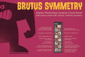 Alex Dukal's Illustration Bundle for Photoshop Adobe Photoshop RetroSupply Co