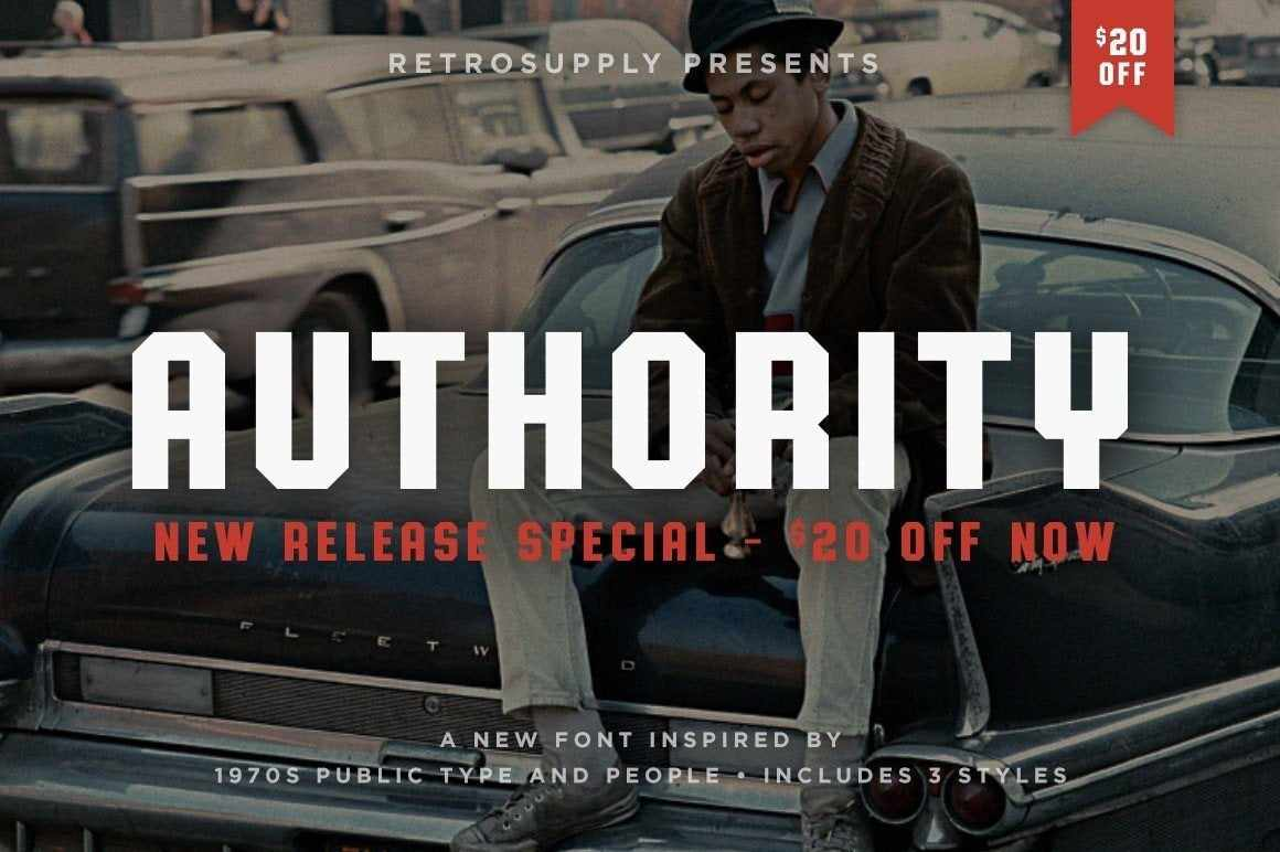 Authority Fonts RetroSupply Co