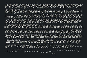 Blackbike Fonts RetroSupply Co.