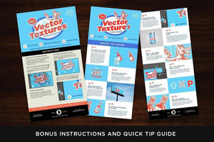 Diet Vector Textures Bundle Adobe Illustrator RetroSupply Co