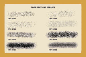 Drunk Sailor Stippling Brushes for Procreate Brushes RetroSupply Co.