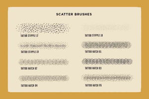 Drunk Sailor | Vector Stippling Brushes & More Adobe Illustrator RetroSupply Co