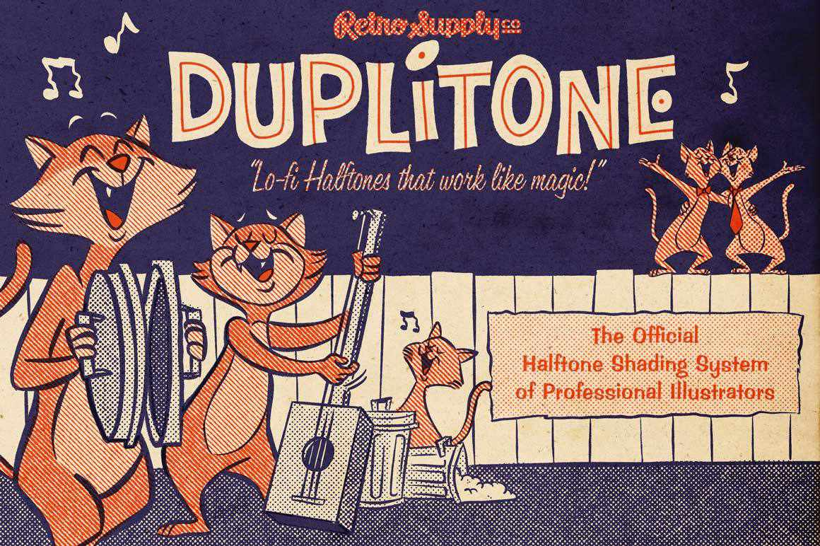 Duplitone for Affinity Affinity Designer Brushes RetroSupply Co.