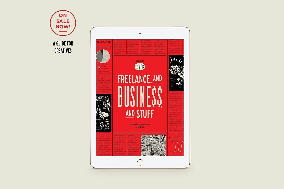 [Ebook] Freelance, and Business, and Stuff by Amy Hood & Jen Hood RetroSupply Co.