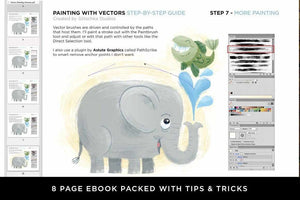 Vector Painting Guide for Adobe Illustrator by Von Glitschka